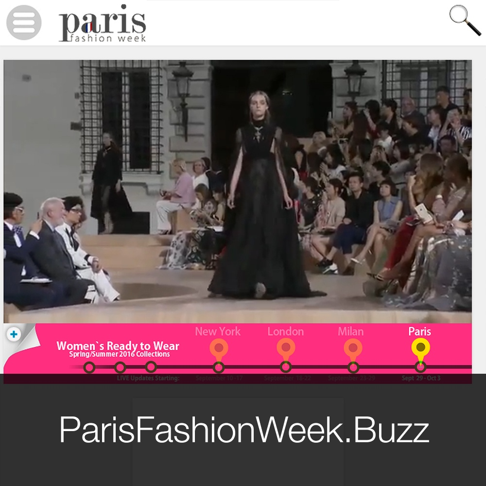 Visit ParisFashionWeek.Buzz