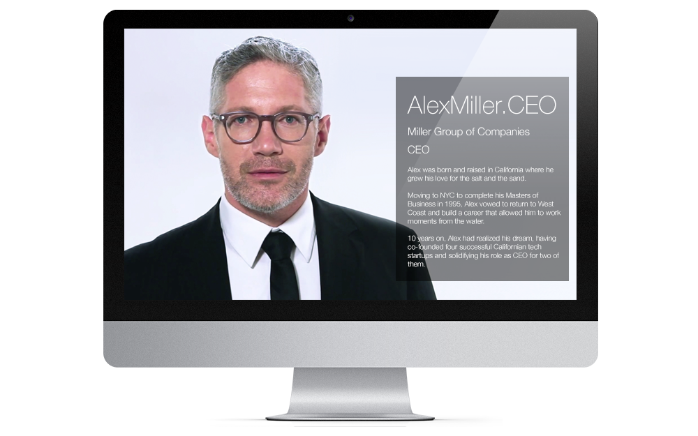 Activate your .CEO Identity Page