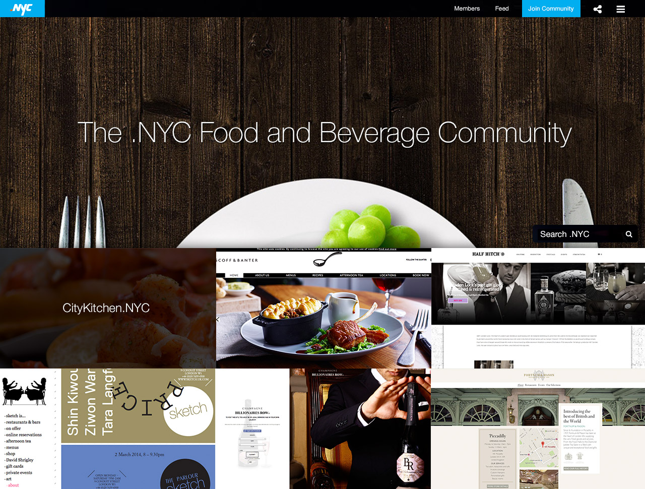 NYC Food and Beverage Community
